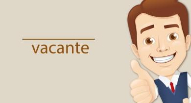 VACANTE